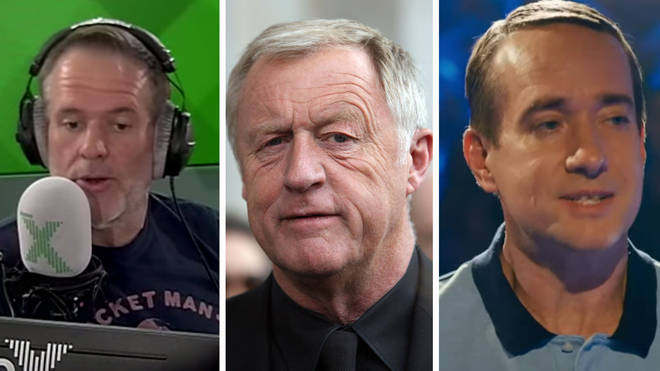 Chris Moyles, Chris Tarrant and Matthew Macfadyen as Major Ingram on Quiz