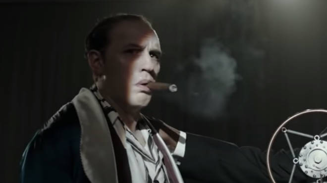 The first official trailer for Tom Hardy in CAPONE is released