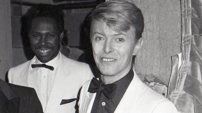 Nile Rodgers and the late David Bowie in 1983