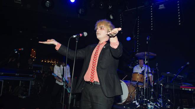 Gerard Way Performs At The Trabendo In Paris