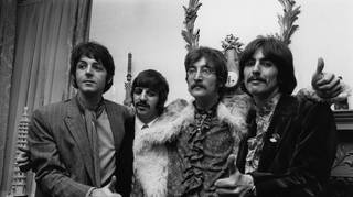 The Beatles launch Sgt Pepper in May 1967