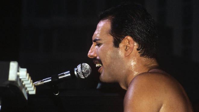 Freddie Mercury in 1984