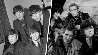 The Beatles in the 60s and The Rolling Stones in the 80s
