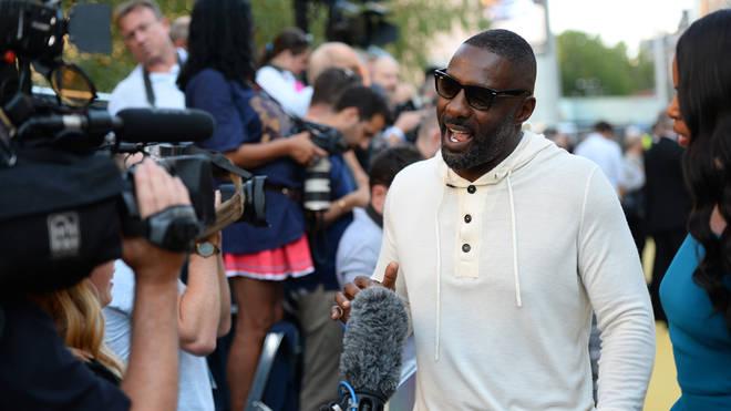 Idris Elba at the Yardie premiere