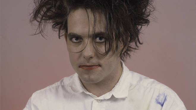 Robert Smith of the Cure at the Rosemont Horizon on July 28, 1987