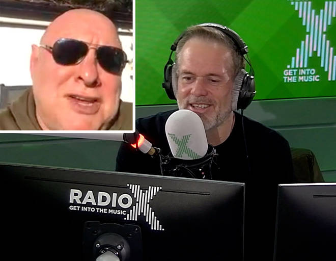 Shaun Ryder calls into The Chris Moyles Show about his life in lockdown