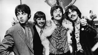 The Beatles in 1967 - before they went solo