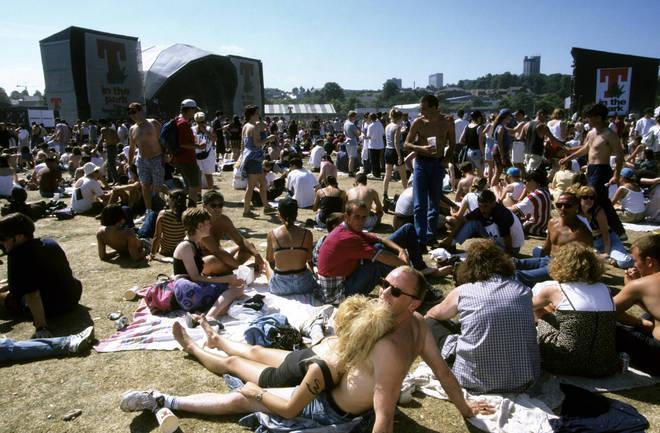 T In The Park festival in 1994