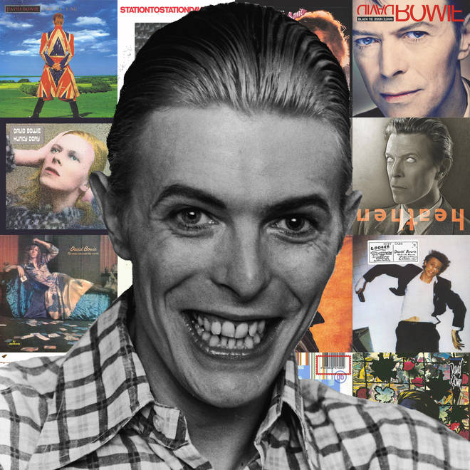 David Bowie and his albums