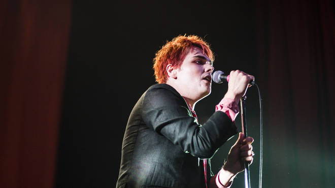 Gerard Way Performs At The Ritz In Manchester in 2015
