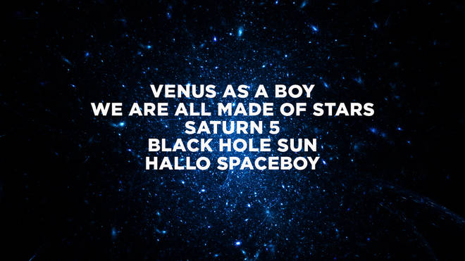 Space Song Titles