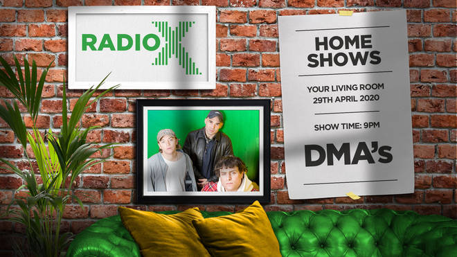 Listen to DMA'S 2020 O2 Academy Brixton gig in Radio X Home Shows