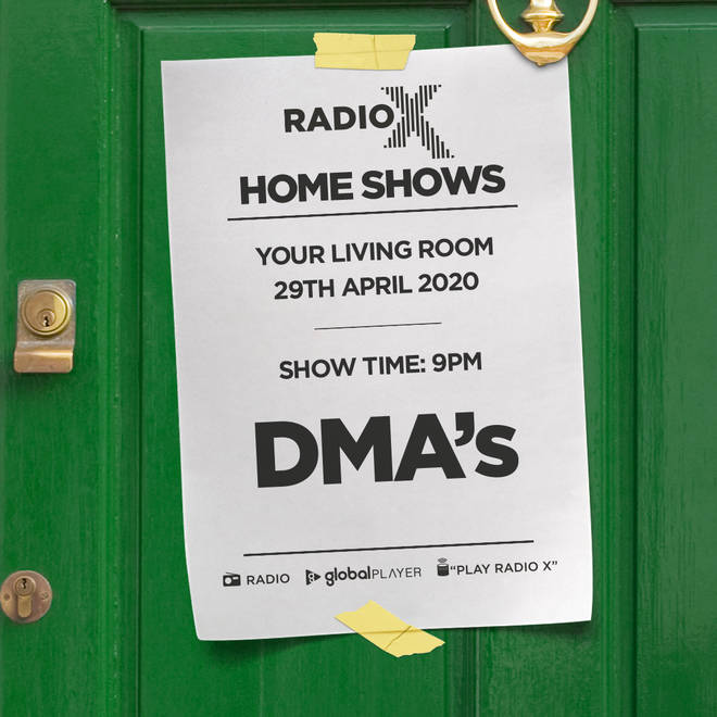 Listen to the DMA'S 2020 O2 Academy Brixton gig in Radio X Home Shows