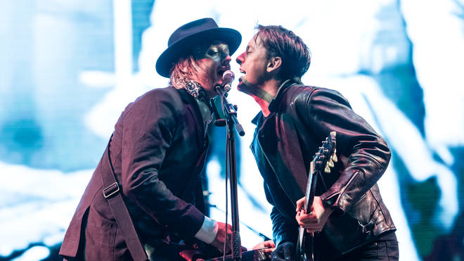 The Libertines live at Victorious Festival
