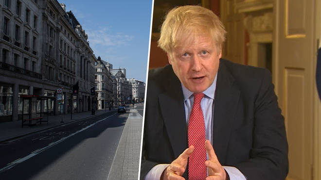 Prime Minister Boris Johnson announced lockdown on Monday 23 May 2020