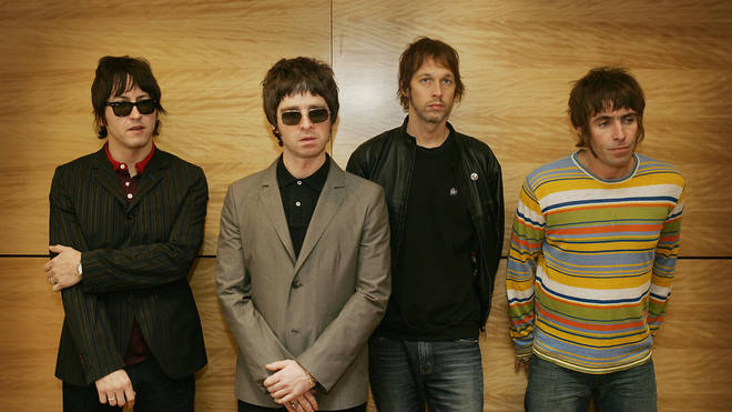 Oasis in 2006: Gem Archer, Noel Gallagher, Andy Bell and Liam Gallagher