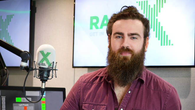 Adam Brown at Radio X