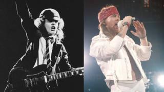 AC/DC and Guns N'Roses