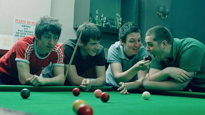 Arctic Monkeys in 2006: Alex Turner, Jamie Cook, Matt Helders and Andy Nicholson