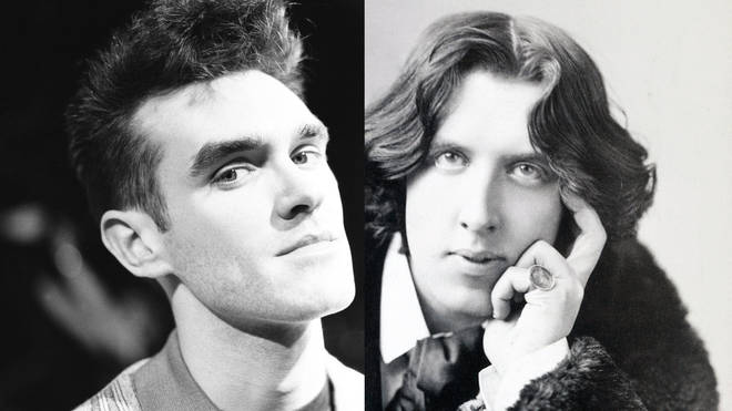 Morrissey and Oscar Wilde