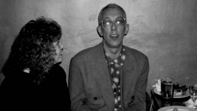 Rob Gretton at Manchester's Dry Bar in th 1990s