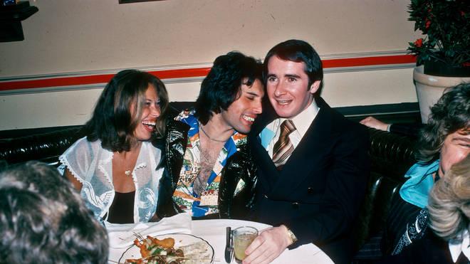 John Reid has a big night out with Freddie Mercury in March 1977