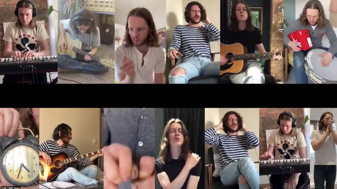 Blossoms perform My Swimming Brain in Isolation as they announce plans to release a Blossoms In Isolation album
