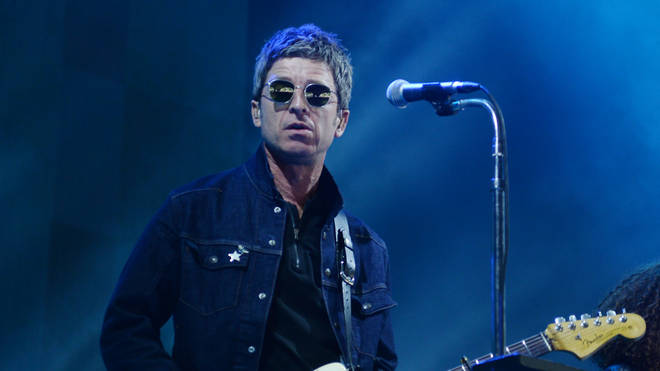 Noel Gallagher's High Flying Birds perform at the Roskilde Festival on July 6, 2019