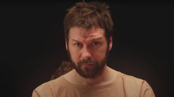 Kasabian frontman Tom Meighan in You're In Love With A Psycho official video