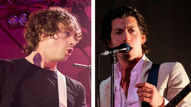 Razorlight's Johnny Borrell and Arctic Monkeys' Alex Turner