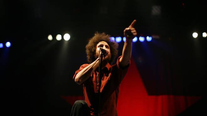 Zach de la Rocha of Rage Against The Machine in 2008