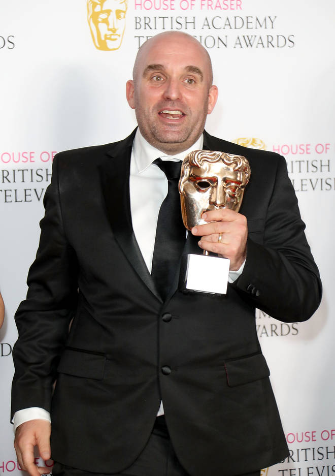 Shane Meadows at the 2016 Bafta Awards