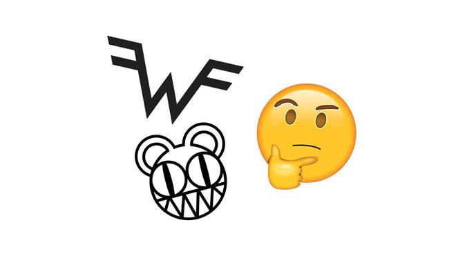 Mystery band logos