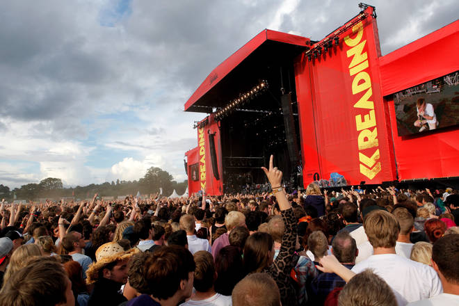 The Main Stage at Reading 2012