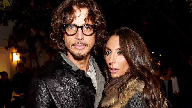 Chris Cornell and wife Vicky Cornell in 2014