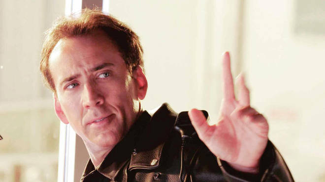 Nicolas Cage in the remake of The WIcker Man