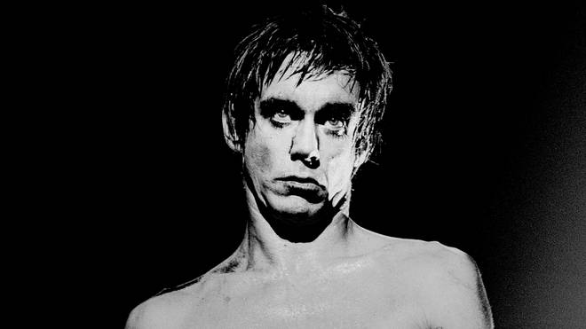 Iggy Pop perfroming in 1977