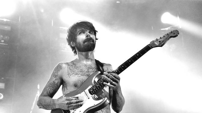 Simon Neil as Biffy Clyro Perform At The Roundhouse, London in 2019