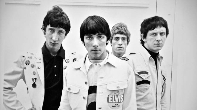 The Who in 1965: ete Townshend, Keith Moon, Roger Daltrey and John Entwistle.
