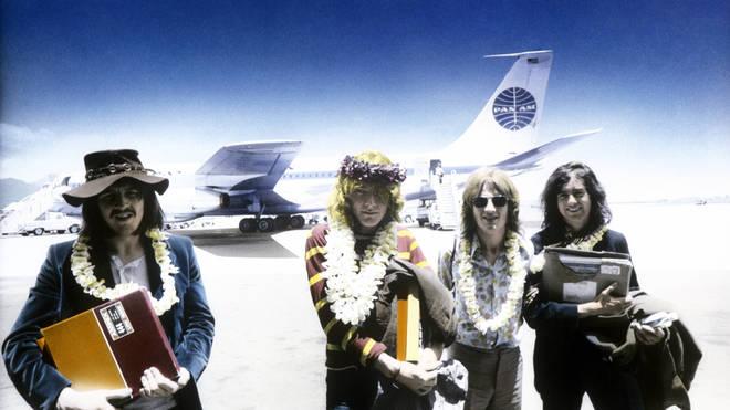 Led Zeppelin in 1969: John Bonham, Robert Plant, John Paul Jones, Jimmy Page