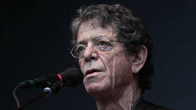 Lou Reed during a concert in Bonn, 2012