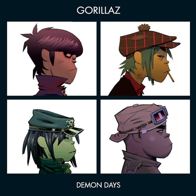 Gorillaz - Demon Days album artwork