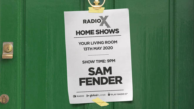 Listen to Sam Fender's 2019 Manchester gig for Radio X's Home Shows