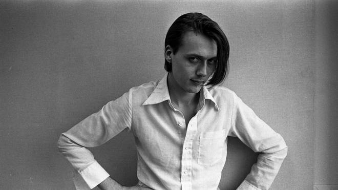 Suede singer Brett Anderson poses for a portrait at the NME offices in London, 1993.