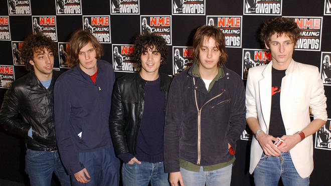 The Strokes at the NME Awards in 2002