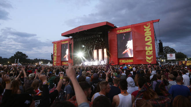 Reading Festival stage
