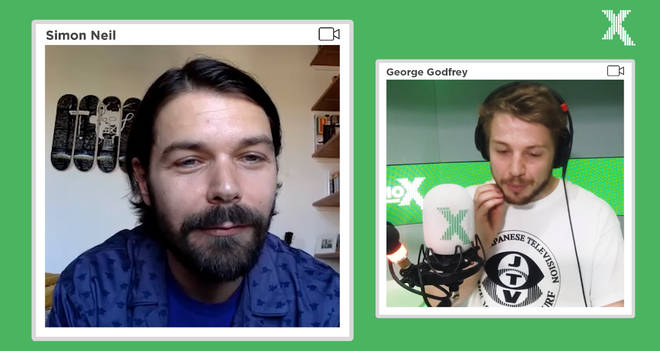 Simon Neil talks to Radio X's George Godfrey from lockdown