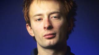 Thom Yorke of Radiohead in 1995