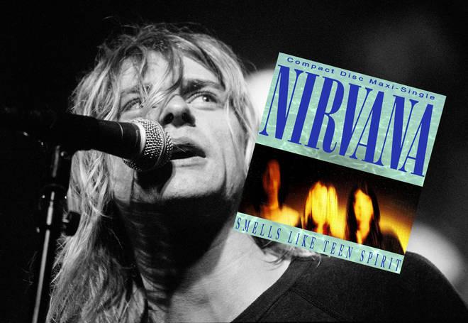 Kurt Cobain performing with Nirvana in Amsterdam, 25 Noveber 1991