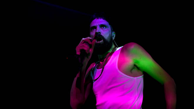 Kasabian's Serge Pizzorno performs in London as The S.L.P.
